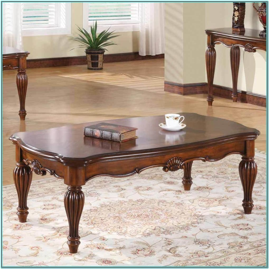 Living Room Cherry End Tables