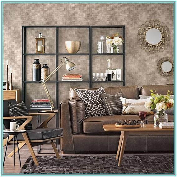 Living Room Chocolate Brown Furniture