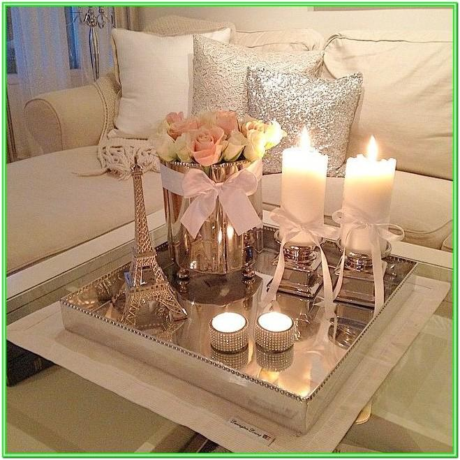 Living Room Coffee Table Centerpiece