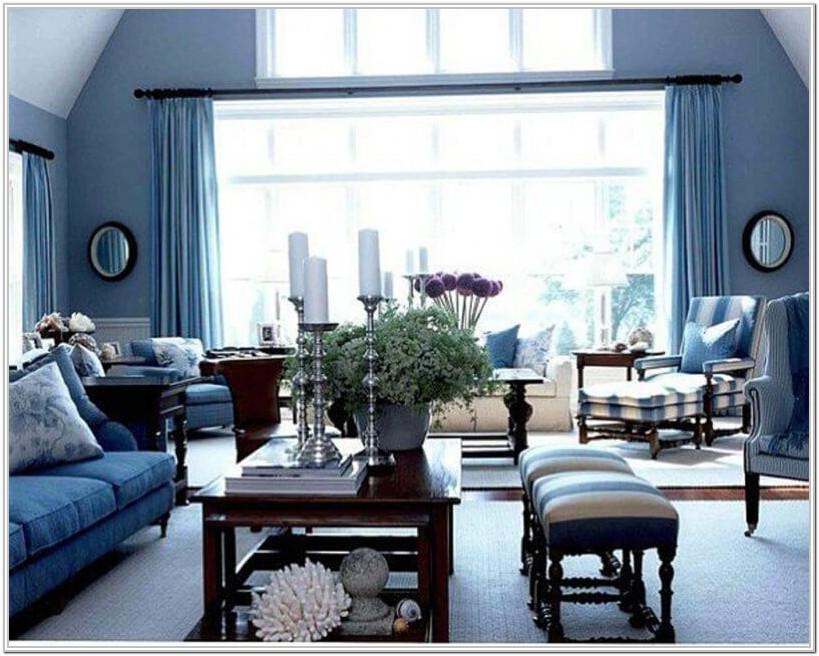 Living Room Color Ideas For Blue Furniture