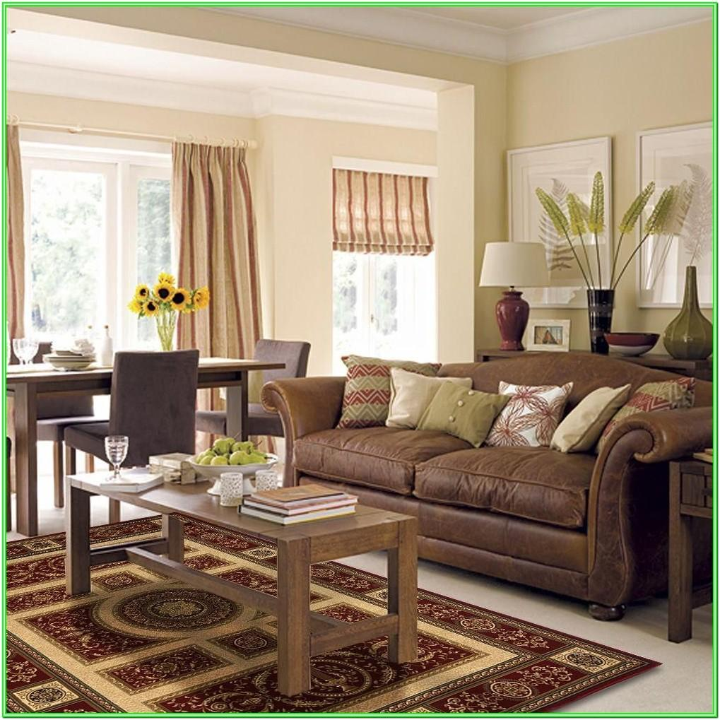 Living Room Color Schemes With Dark Brown Furniture