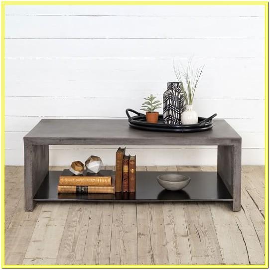 Living Room Concrete Coffee Table