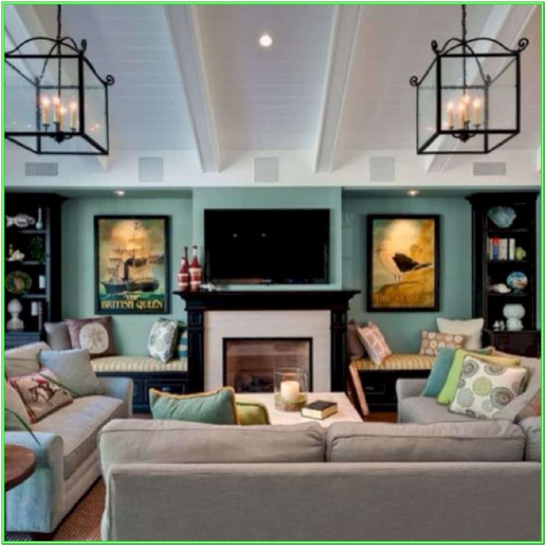 Living Room Configurations With Fireplace And Tv