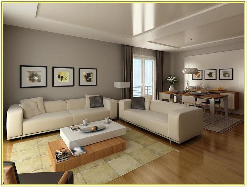 Living Room Contemporary Interior Paint Colors