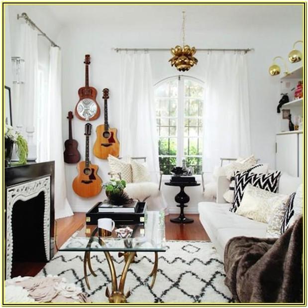 Living Room Cool Apartment Decor