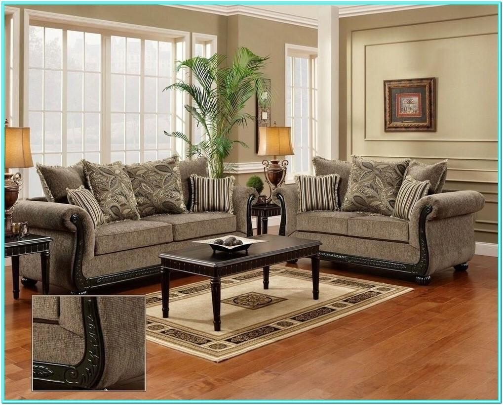 Living Room Couch And Loveseat Layout
