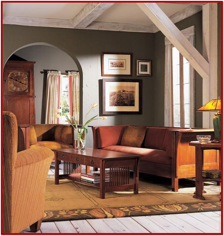 Living Room Craftsman Style Furniture