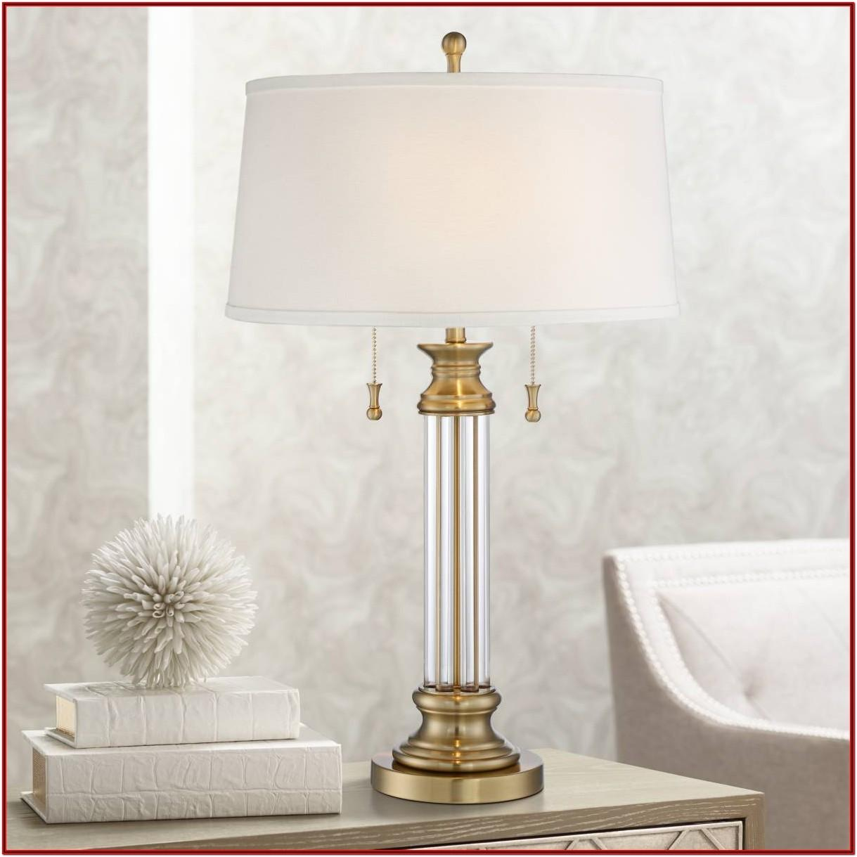 Living Room Crystal Table Lamps