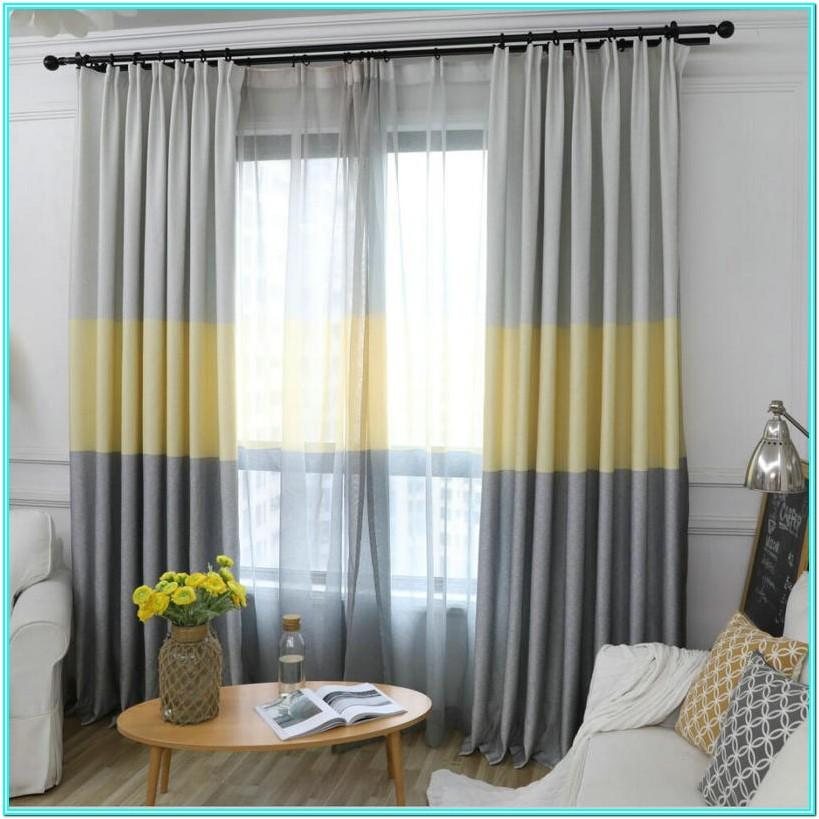 Living Room Curtain Design And Color