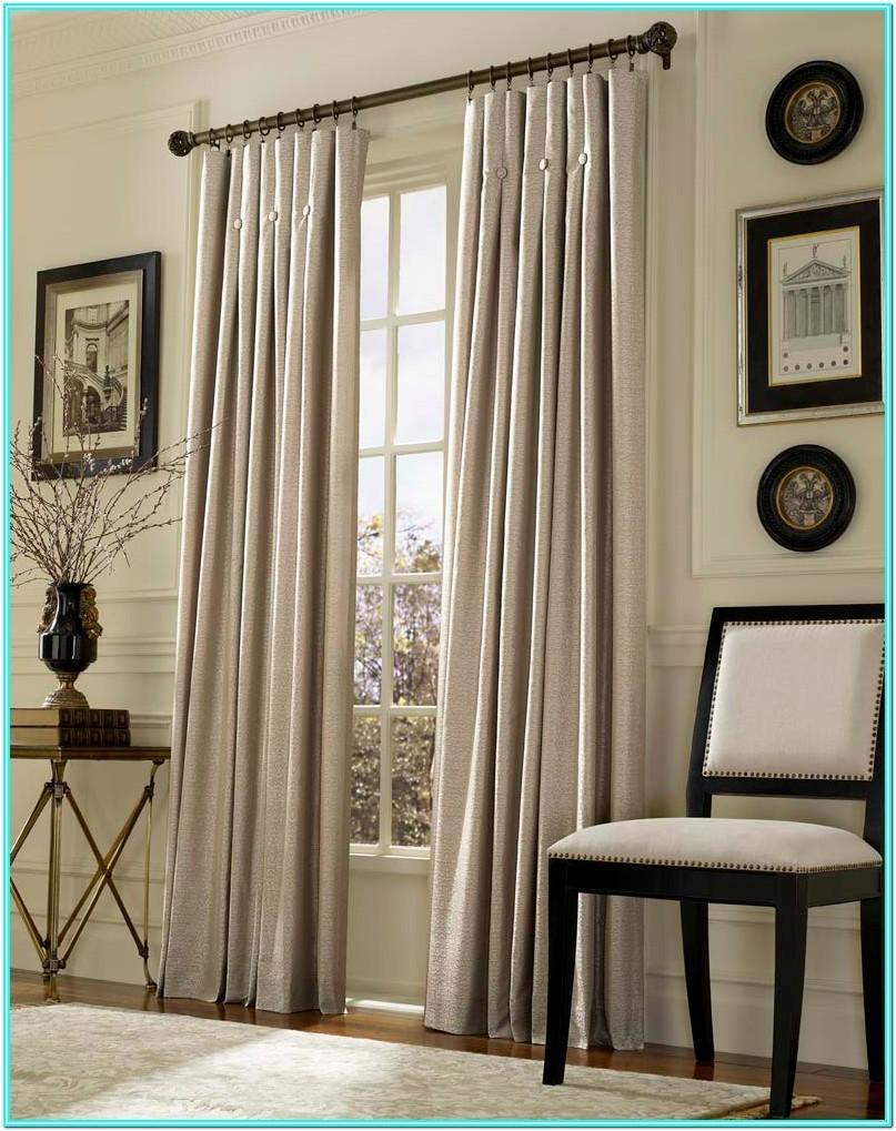 Living Room Curtain Rod Ideas