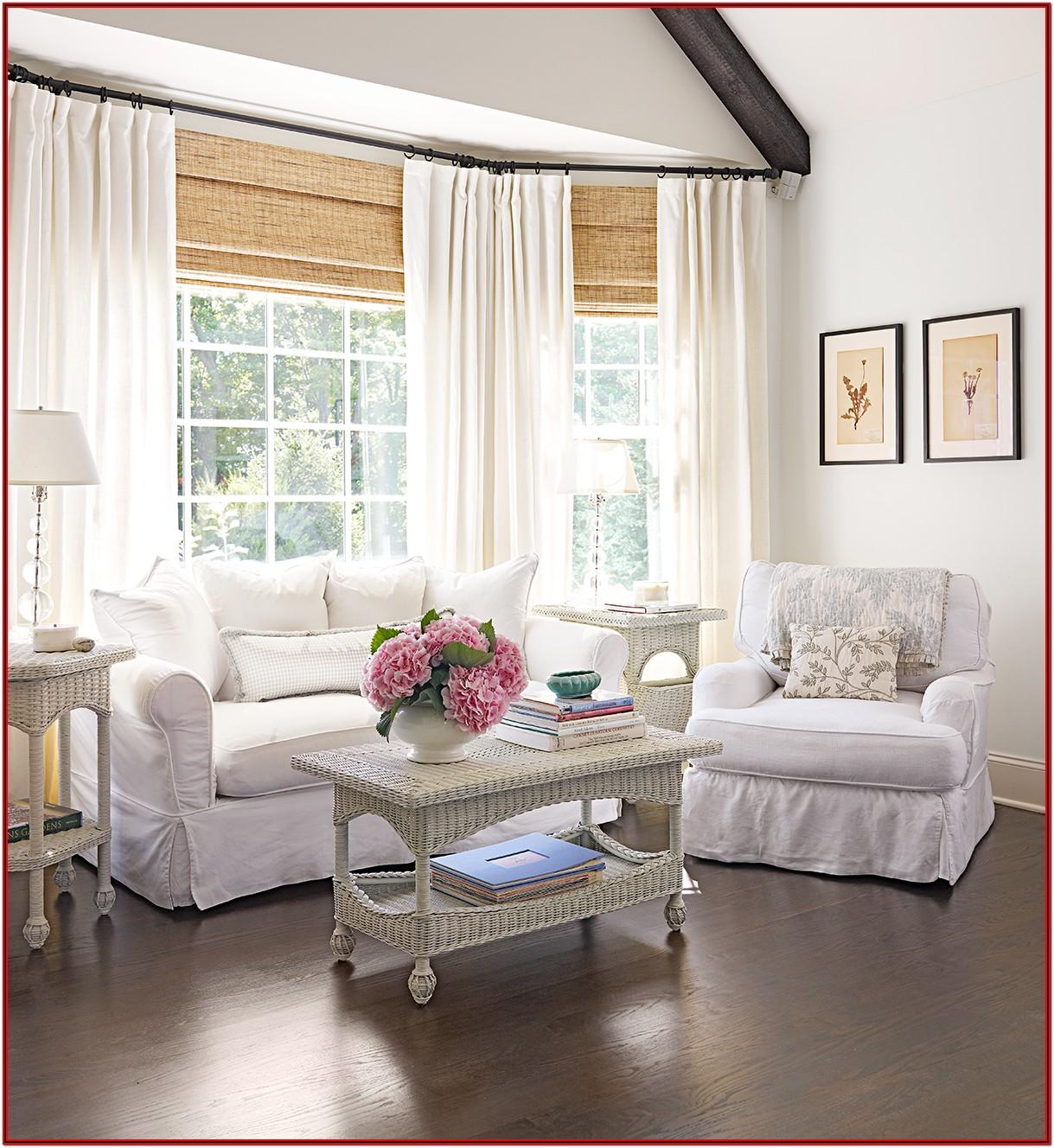 Living Room Curtains For Bow Windows