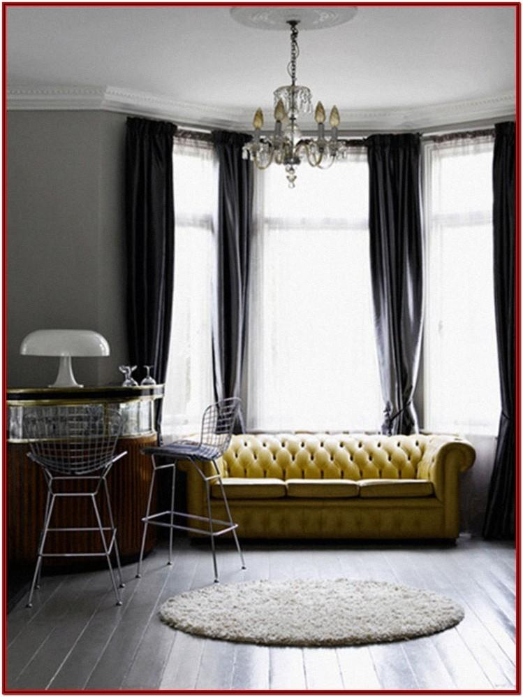Living Room Curtains For Gray Walls