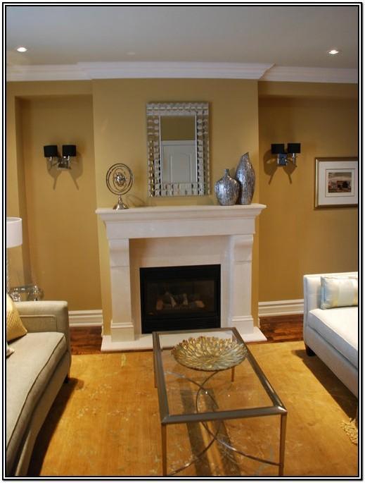 Living Room Dark Gold Paint