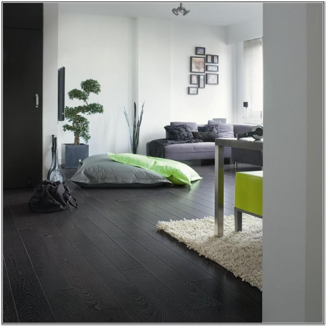 Living Room Dark Grey Laminate Flooring