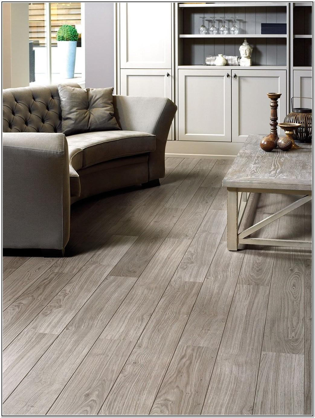 Living Room Dark Wood Laminate Flooring