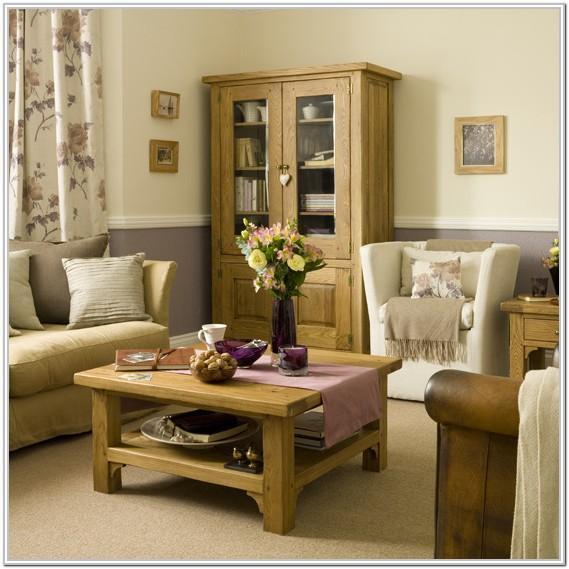 Living Room Design Ideas With Oak Furniture