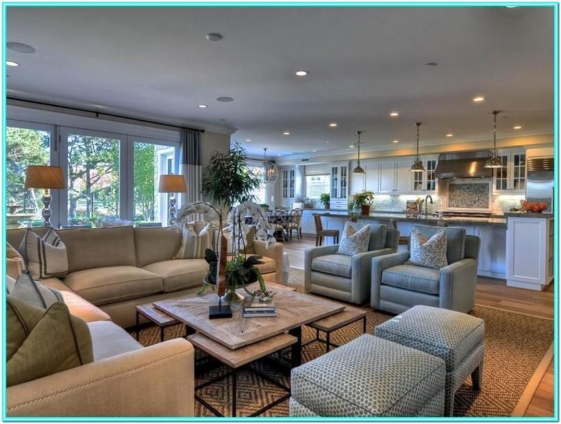 Living Room Design Open Floor Plan
