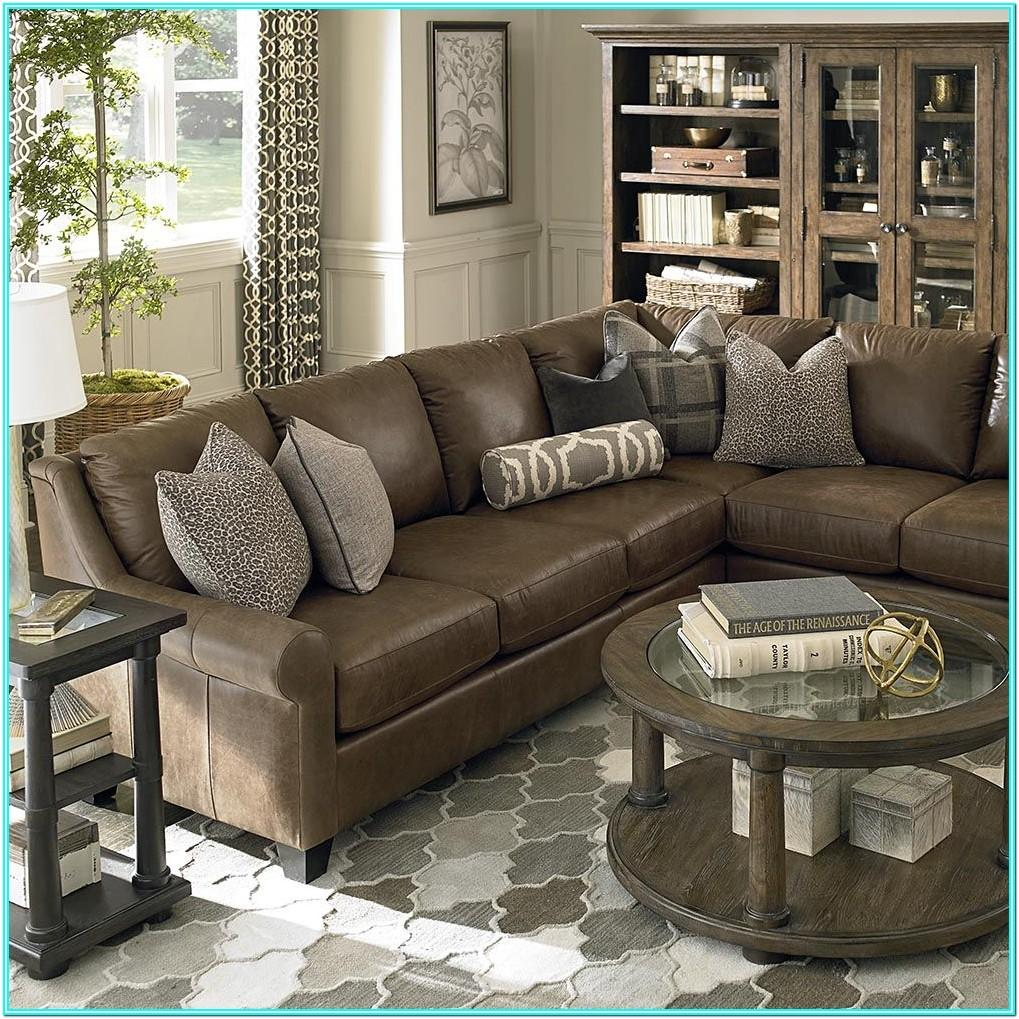 Living Room Design With Sectional Couch