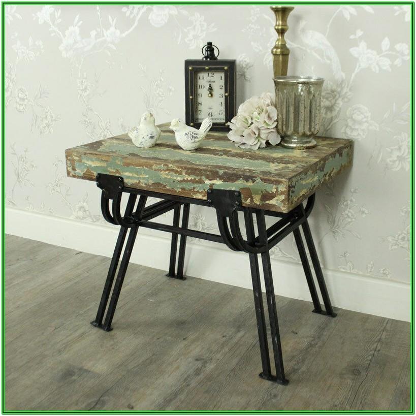 Living Room Distressed Wood Furniture