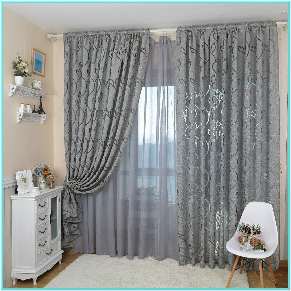 Living Room Door Curtains Models