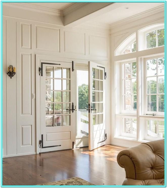 Living Room Double French Doors