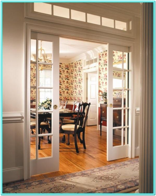 Living Room Double Sliding Doors