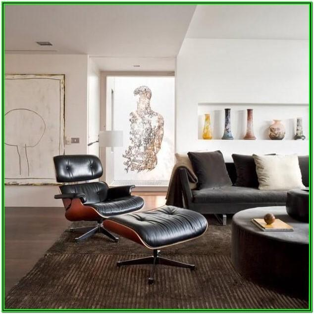 Living Room Eames Plywood Chair