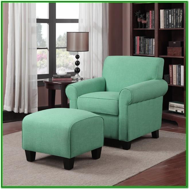 Living Room Emerald Green Accent Chair
