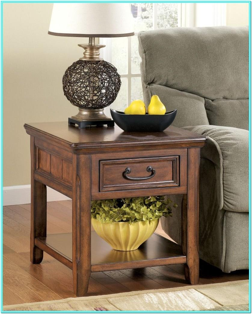 Living Room End Table Decor