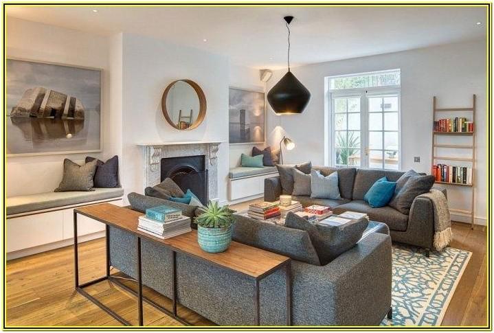 Living Room English Contemporary Interior Design