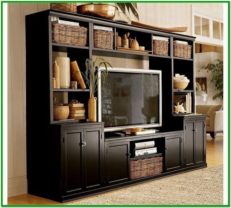 Living Room Entertainment Center Decor Ideas