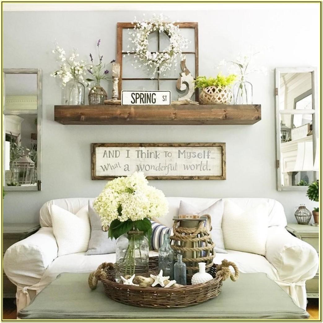 Living Room Farm Style Wall Decor