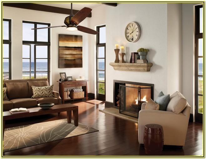 Living Room Farmhouse Ceiling Fan With Light