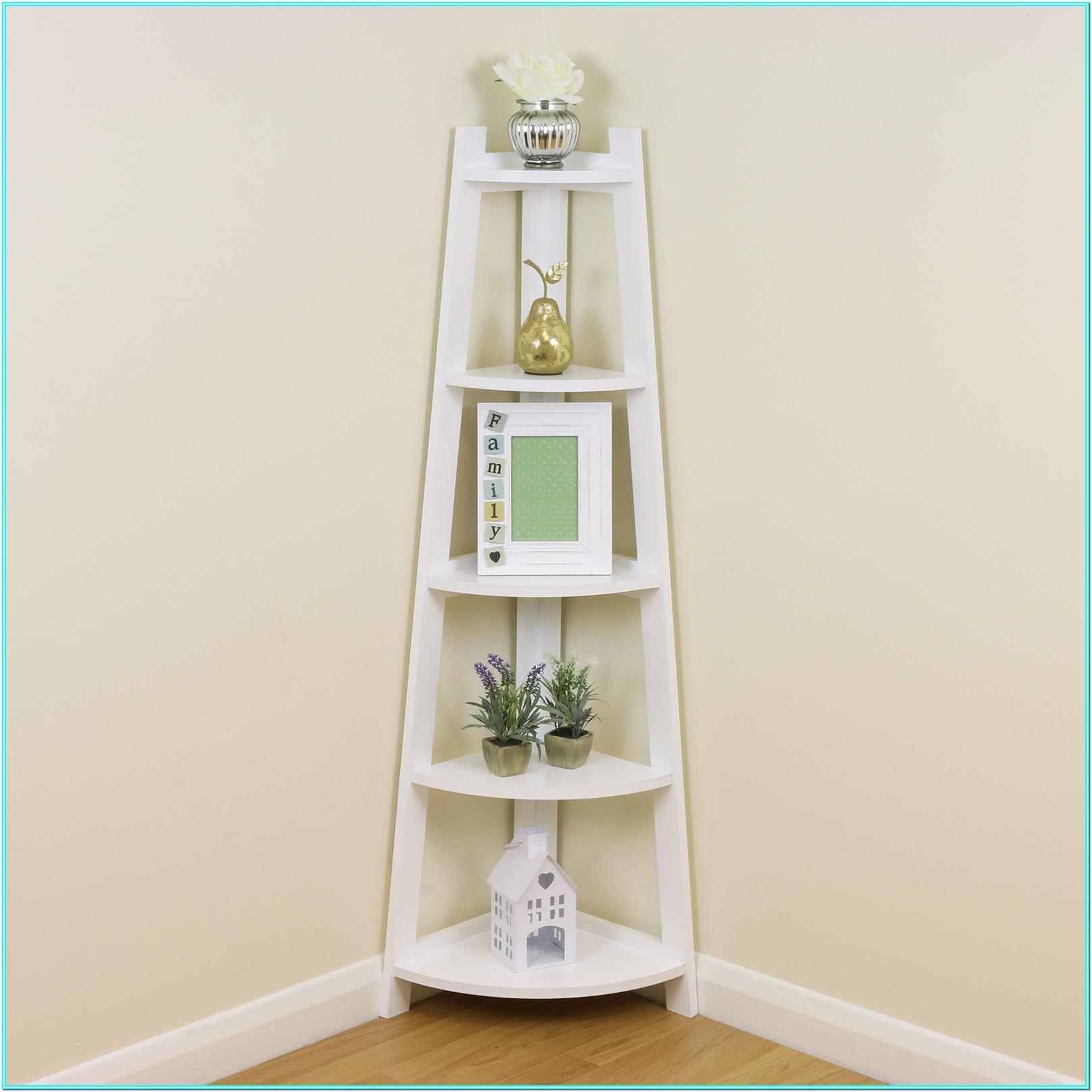 Living Room Free Standing Living Room Corner Shelf Unit