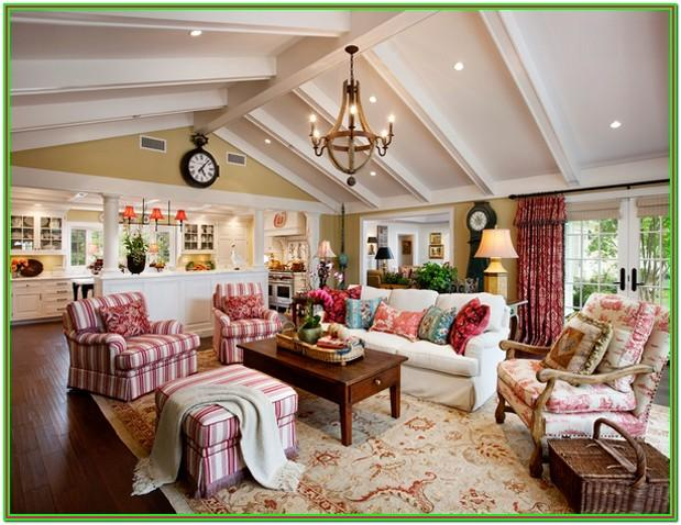 Living Room French Country Interior Design