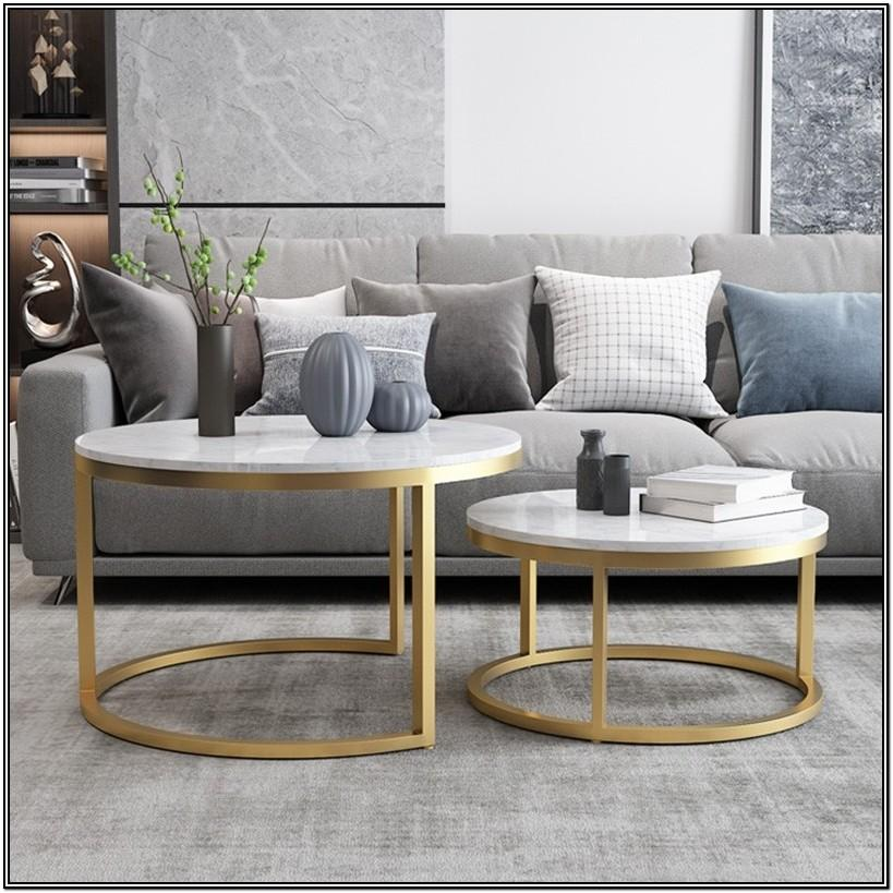 Living Room Gold Coffee Tables