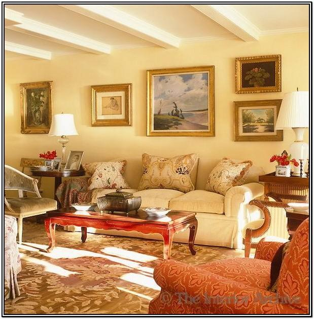 Living Room Gold Paint For Walls