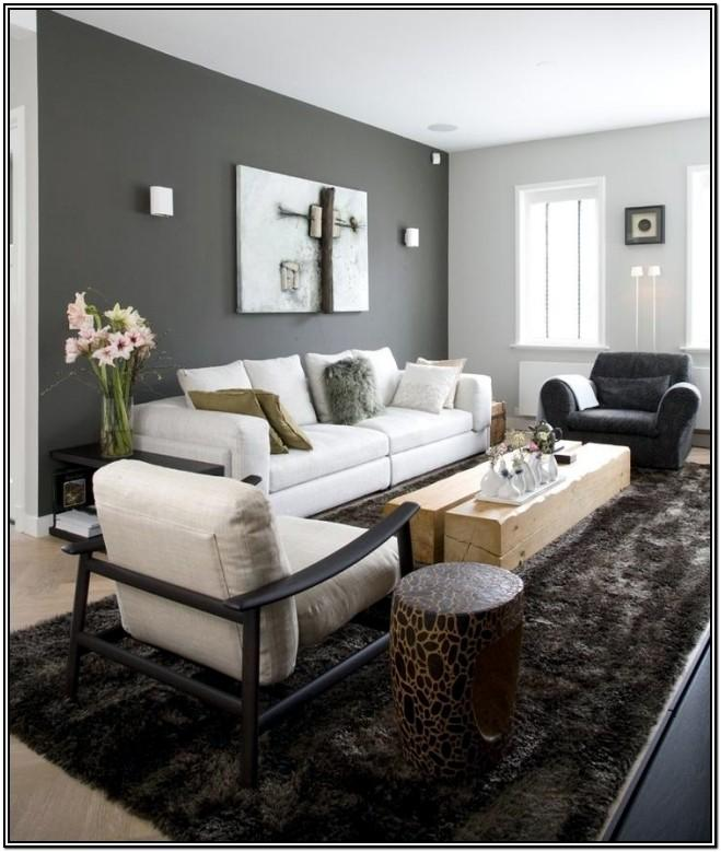 Living Room Gray Wall Color Ideas