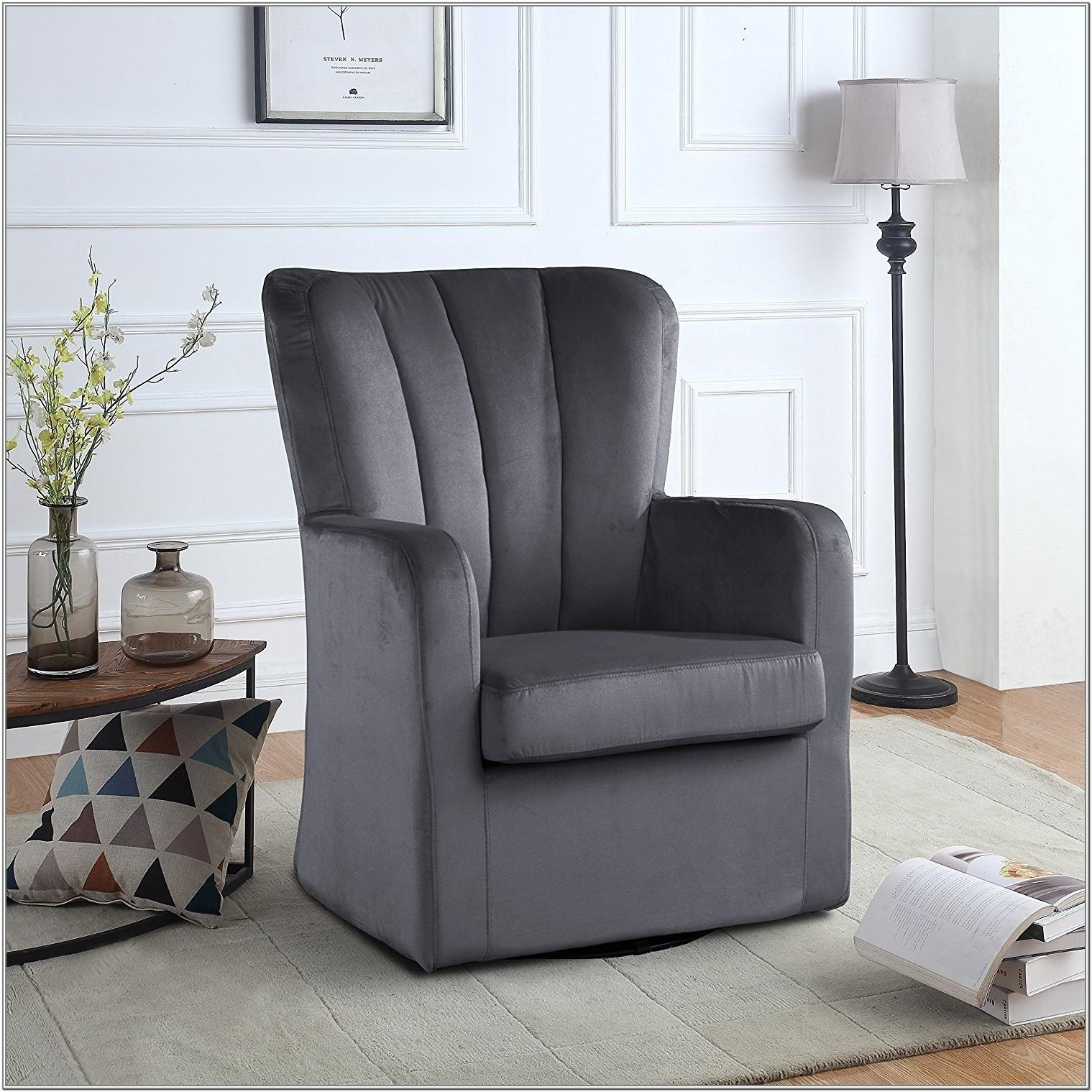Living Room Grey Occasional Chair