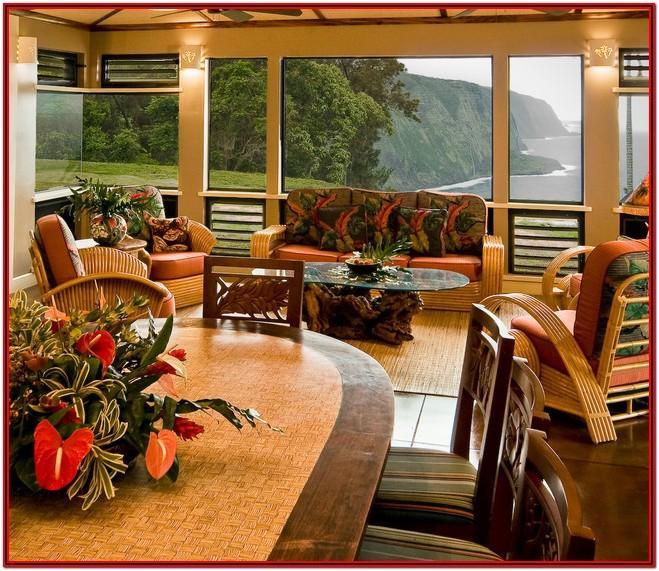 Living Room Hawaiian Style Furniture