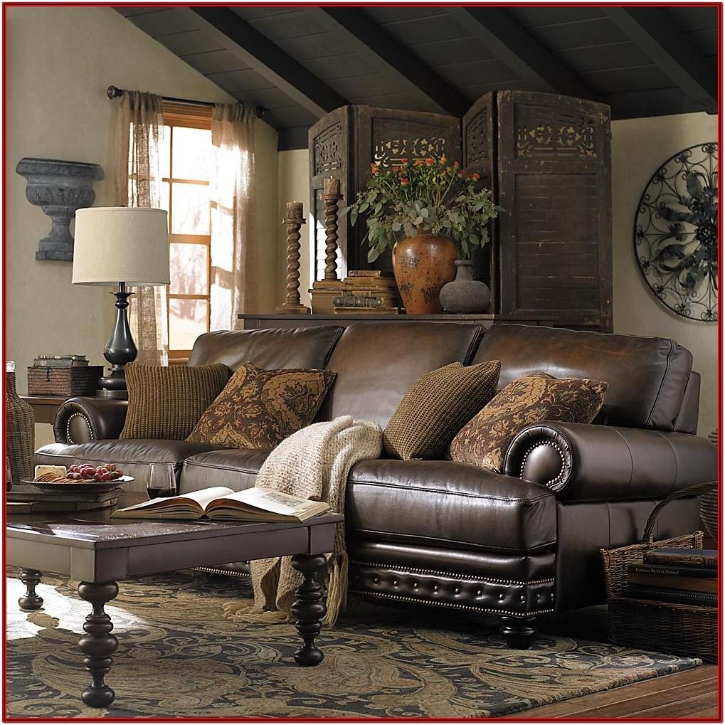 Living Room Home Decor Ideas Brown Furniture