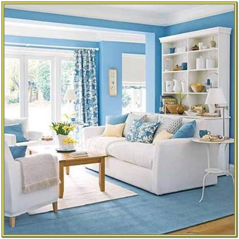 Living Room Ideas With Blue Accents