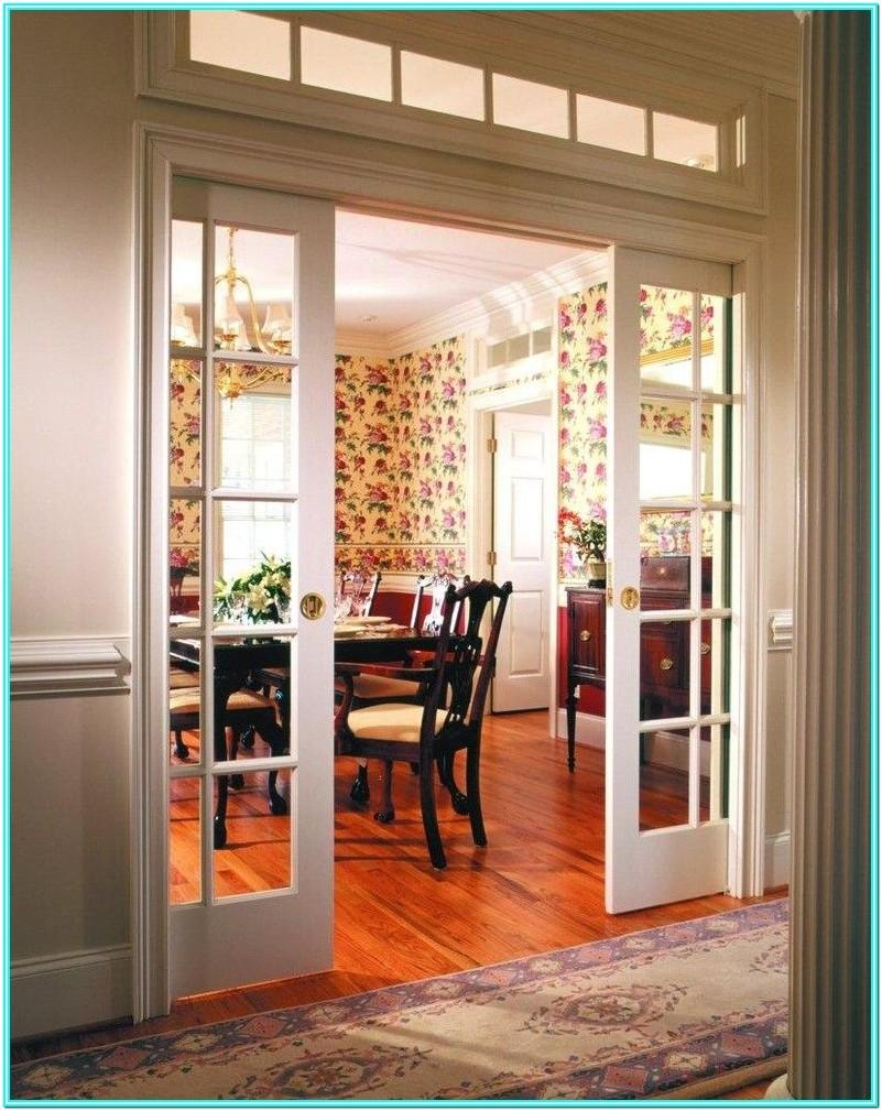Living Room Ideas With Double Doors