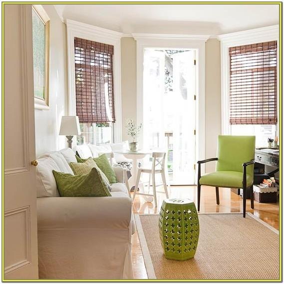 Living Room Ideas With Green Accents