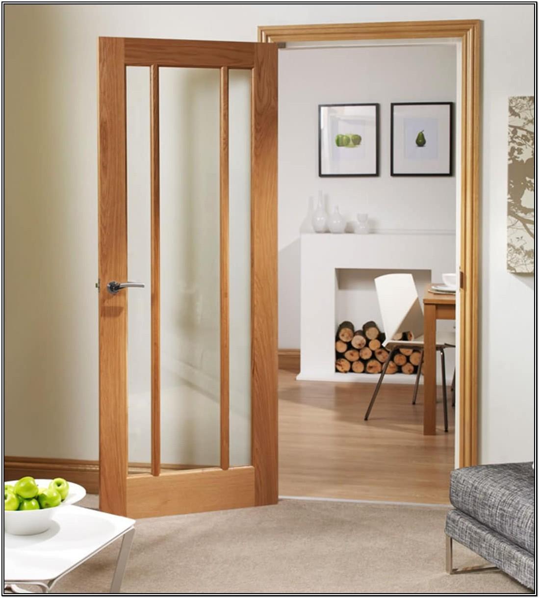 Living Room Internal Sliding Glass Doors