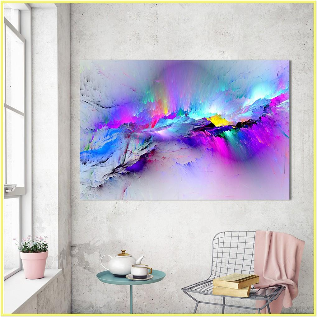 Living Room Large Colorful Wall Art