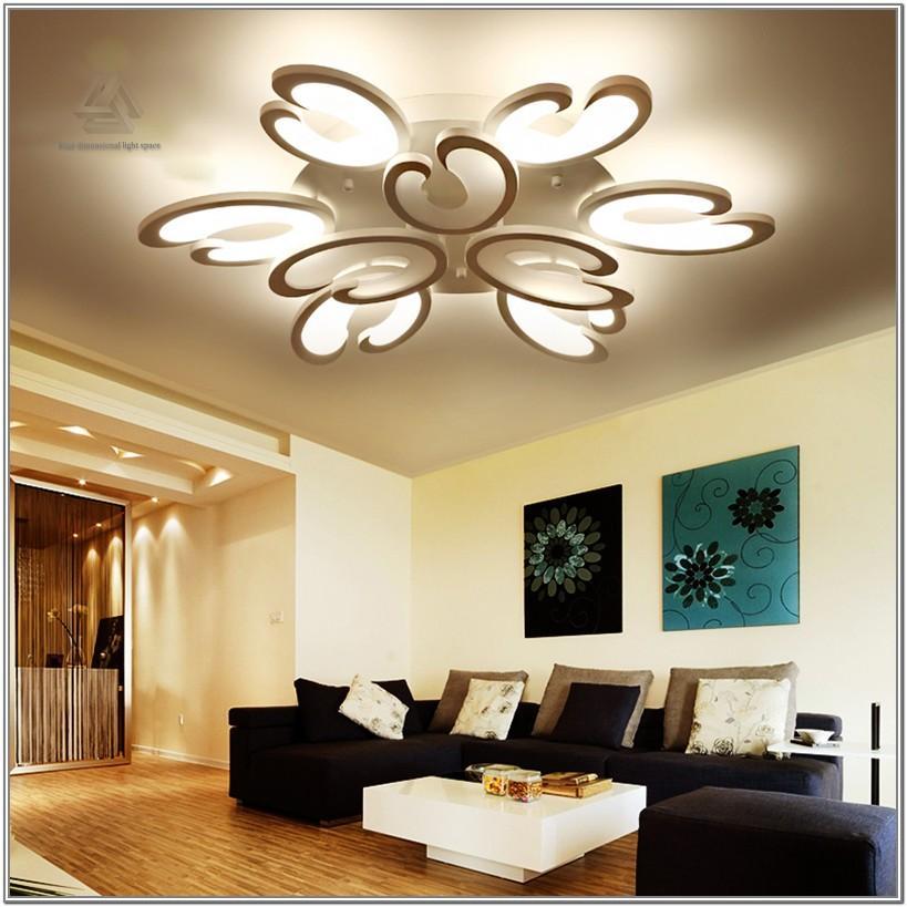 Living Room Led Ceiling Light Design Ideas