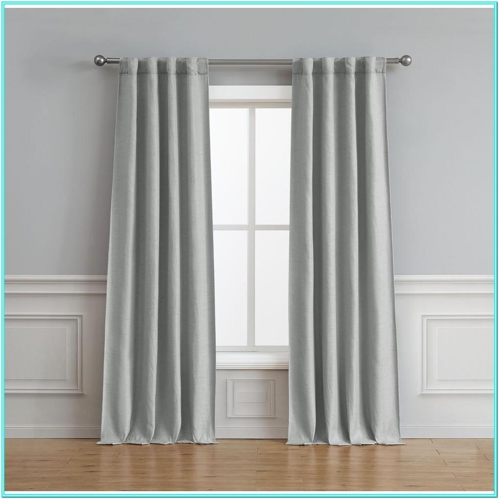 Living Room Light Gray Curtains