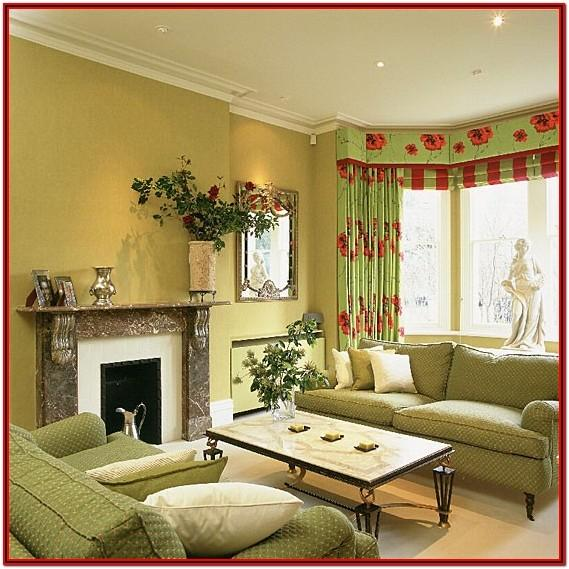 Living Room Lime Green Wall Paint