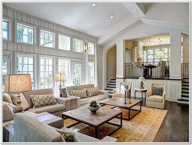 Living Room Open Floor Plan Furniture Layout Ideas